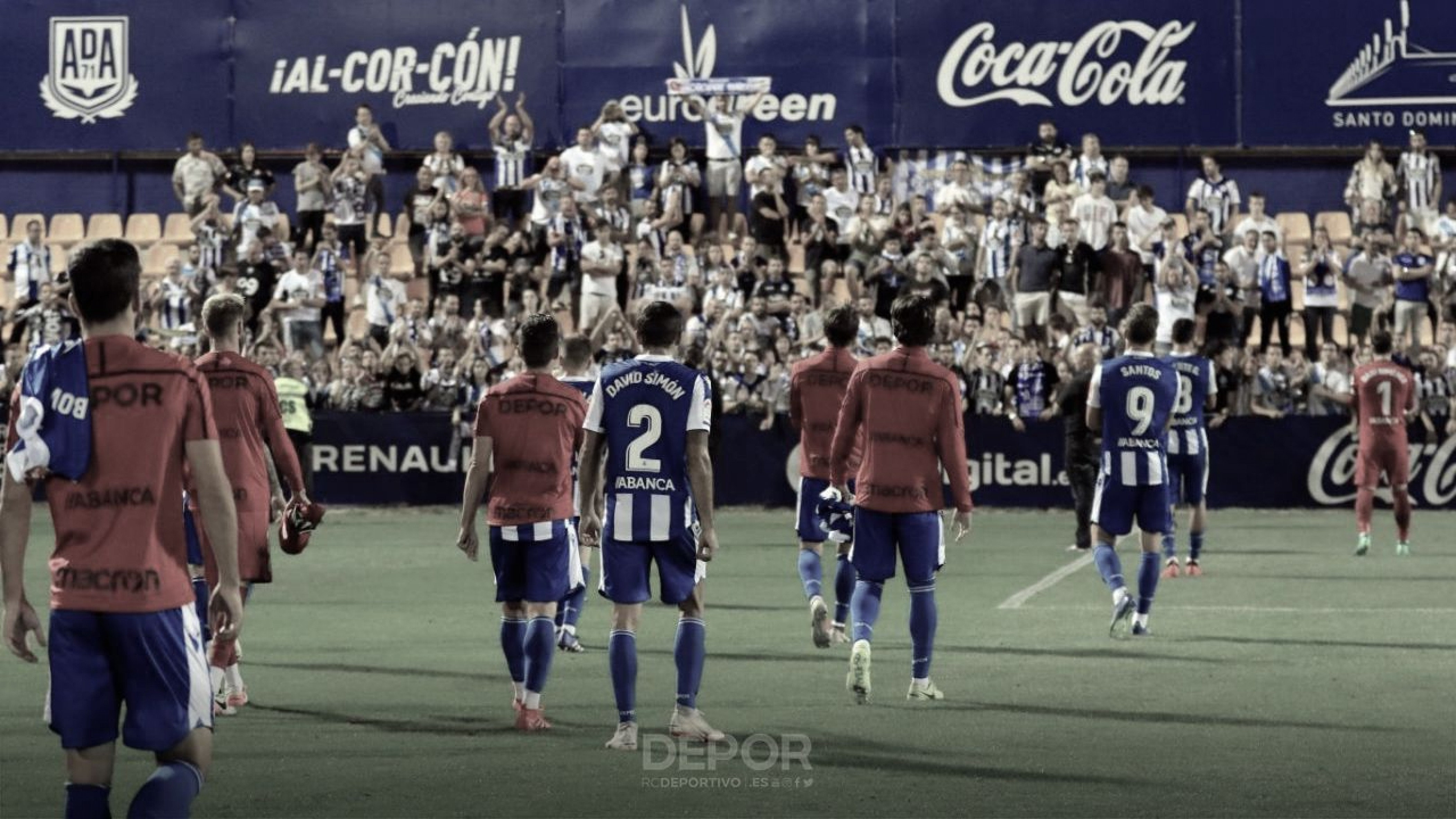 El Deportivo se estrella en Santo Domingo