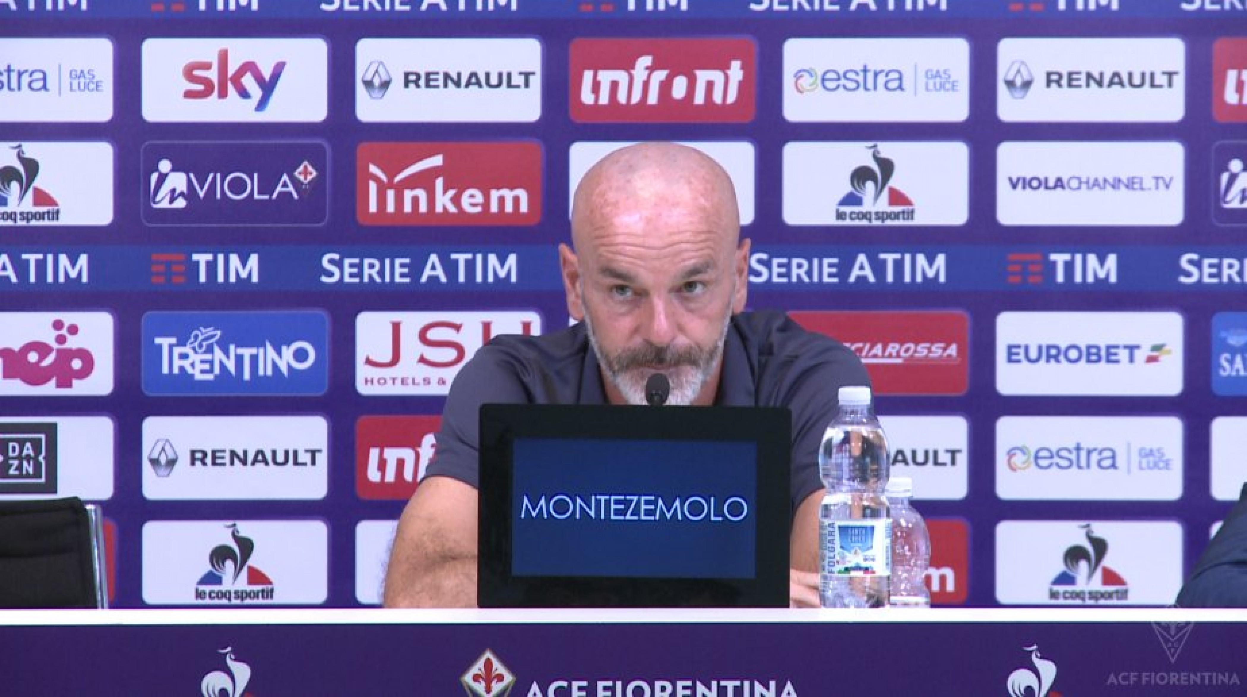 Fiorentina -Spal, la conferenza stampa di Pioli