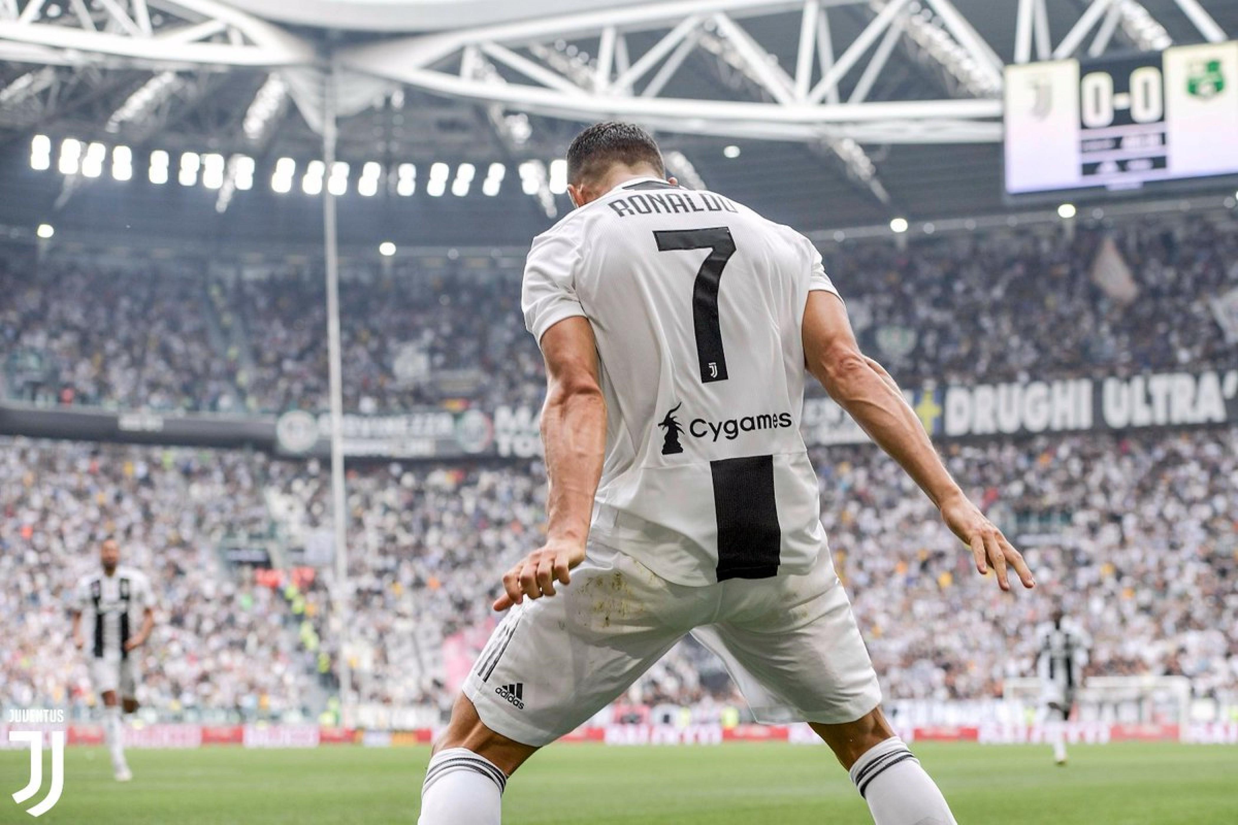 Finalmente Ronaldo, la Juve batte il Sassuolo