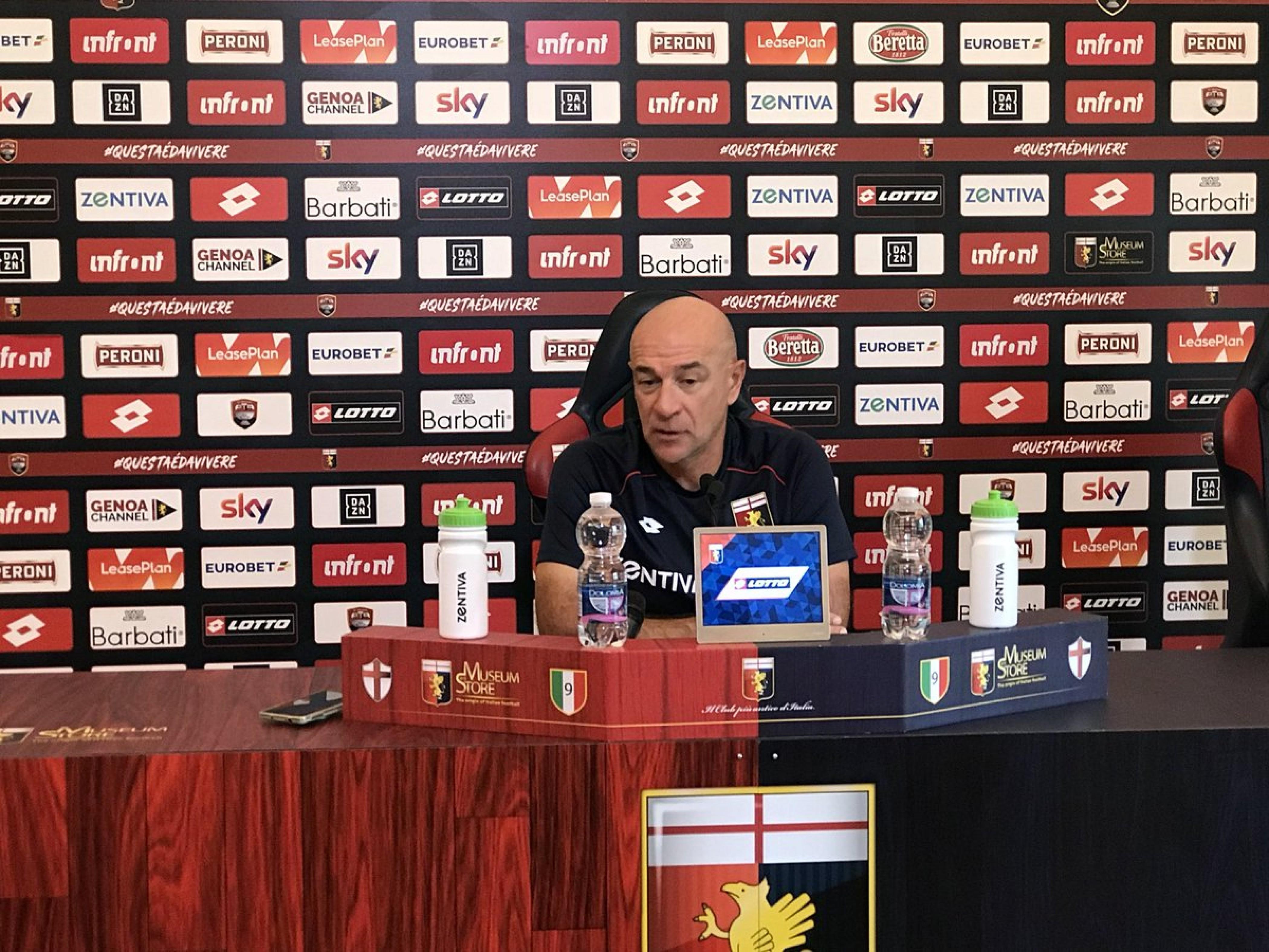 Genoa - Lazio, la conferenza stampa di Ballardini