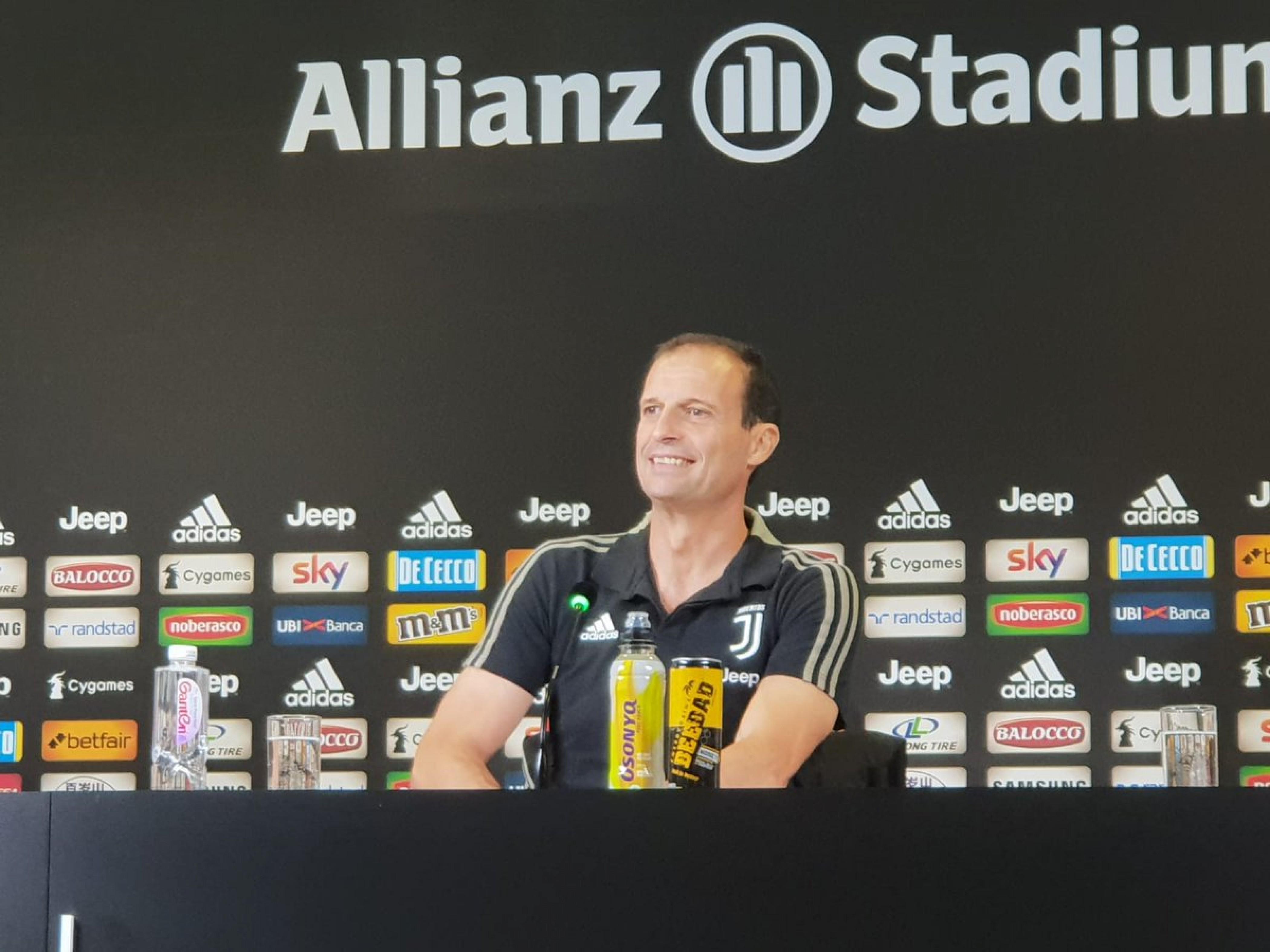 Juventus - Le parole di mister Allegri alla vigilia della gara con il Frosinone