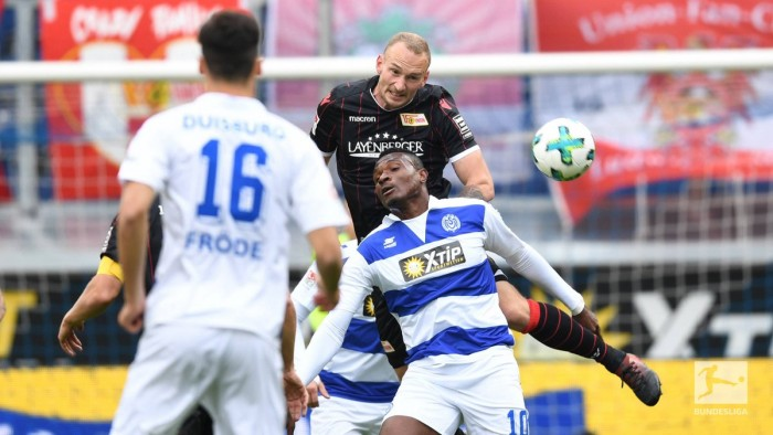 MSV Duisburg 1-1 1. FC Union Berlin: Late Zebras equaliser prevents die Eisern moving into top three