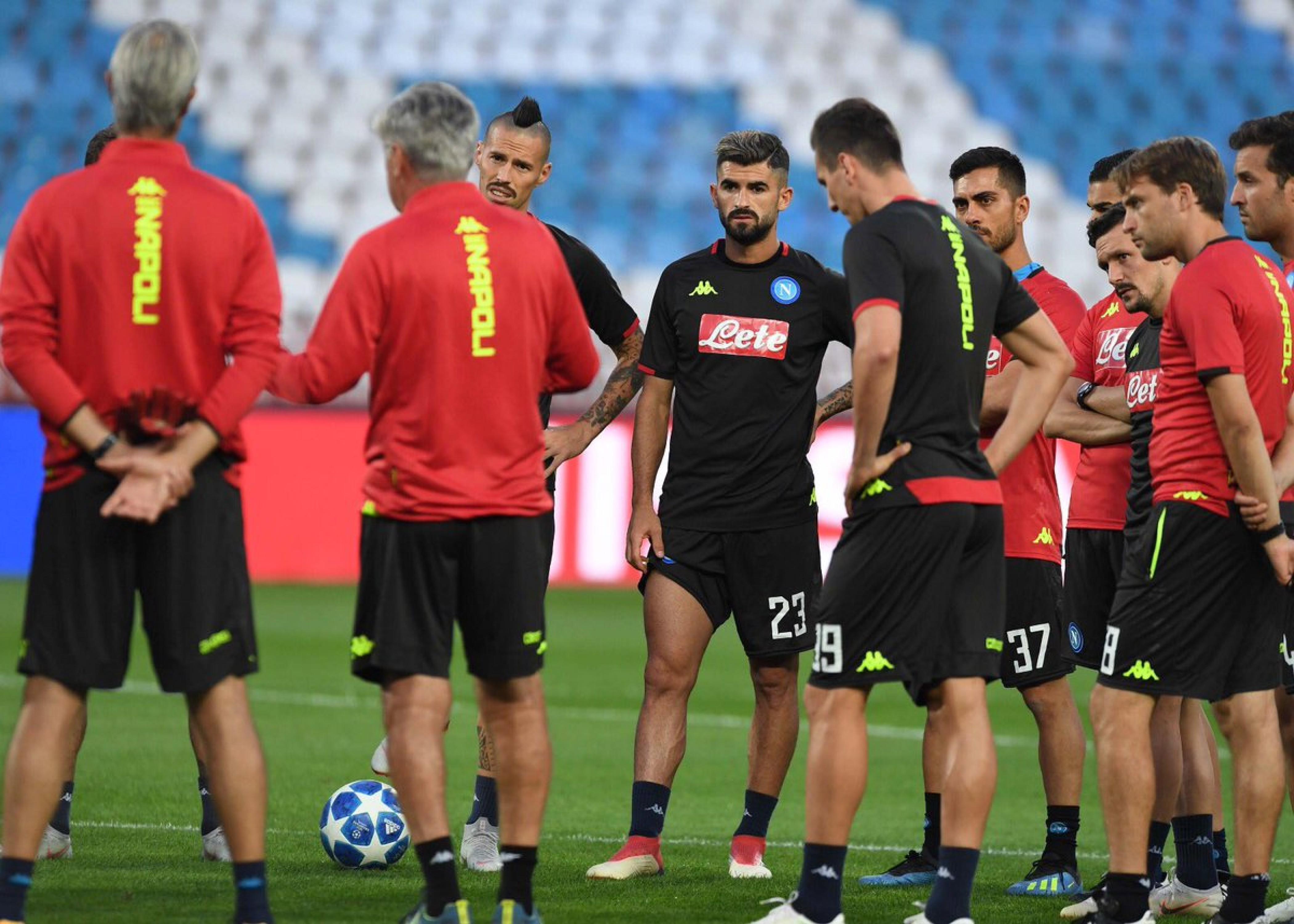 Champions League - Il Napoli di scena a Belgrado: tornano Albiol eMilik