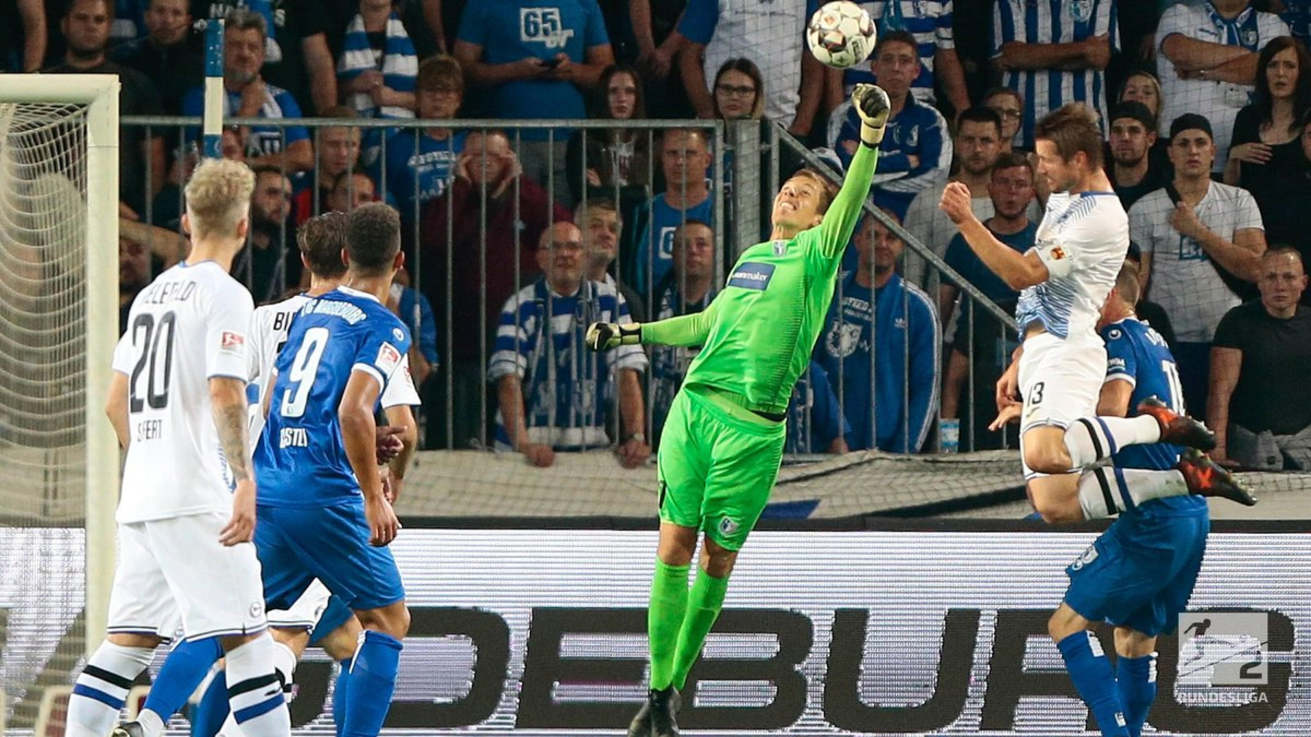 1. FC Magdeburg 0-0 Arminia Bielefeld: Neither side able to break deadlock