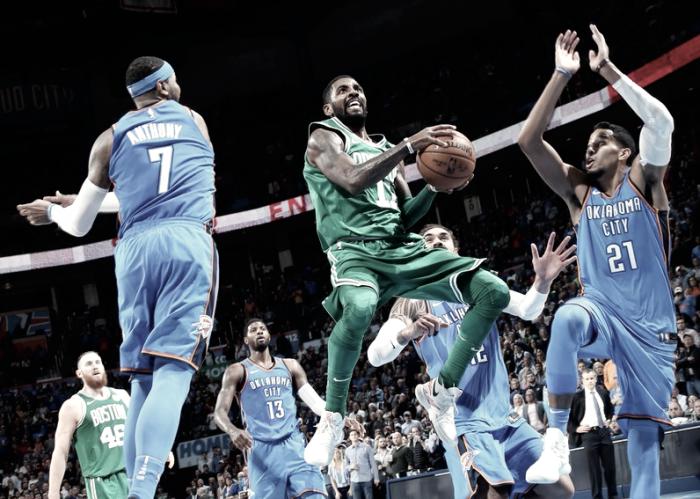 Celtics conseguem virada, vencem Thunder e conquistam sétima vitória seguida