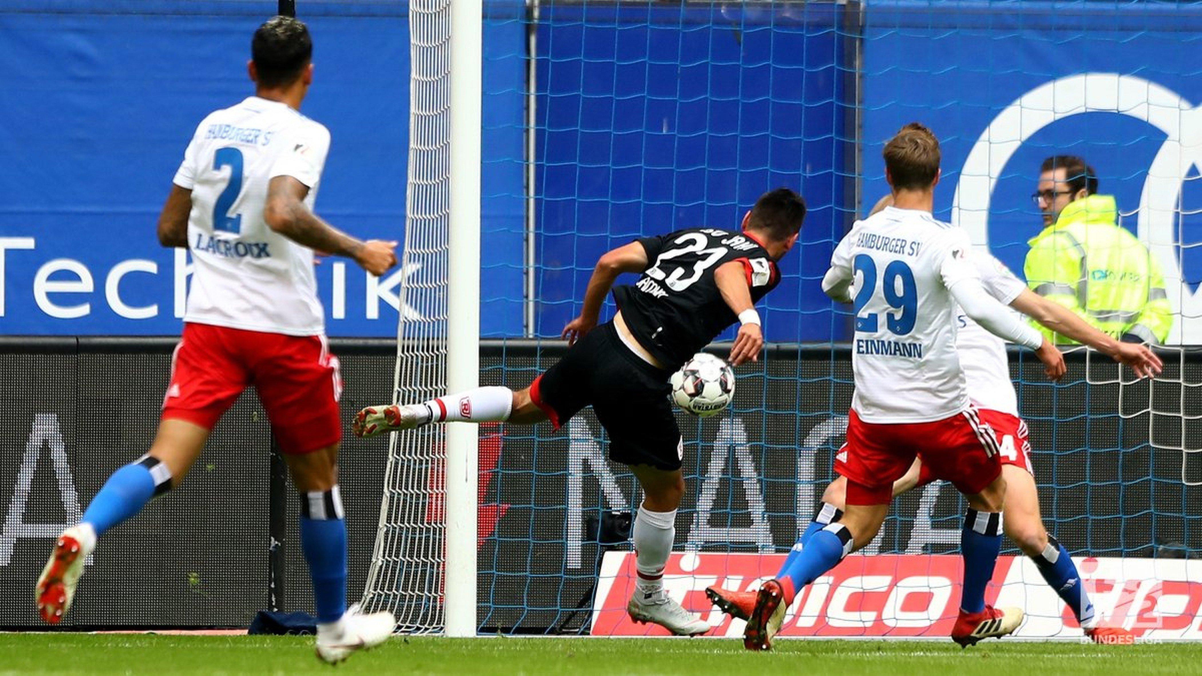 Hamburger SV 0-5 SSV Jahn Regensburg: Red Shorts capitulate in stunning fasion