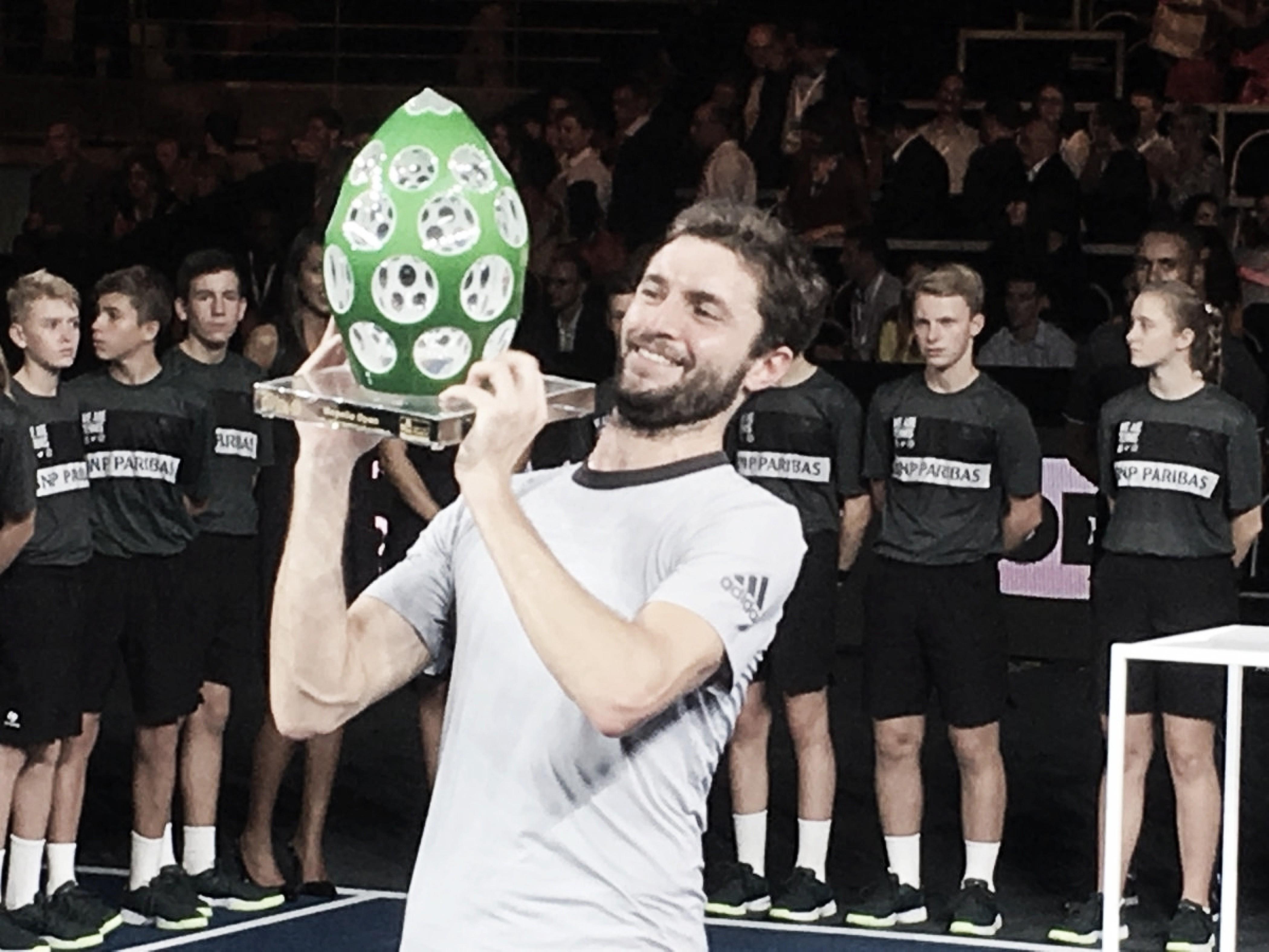 Gilles Simon campeón en Metz