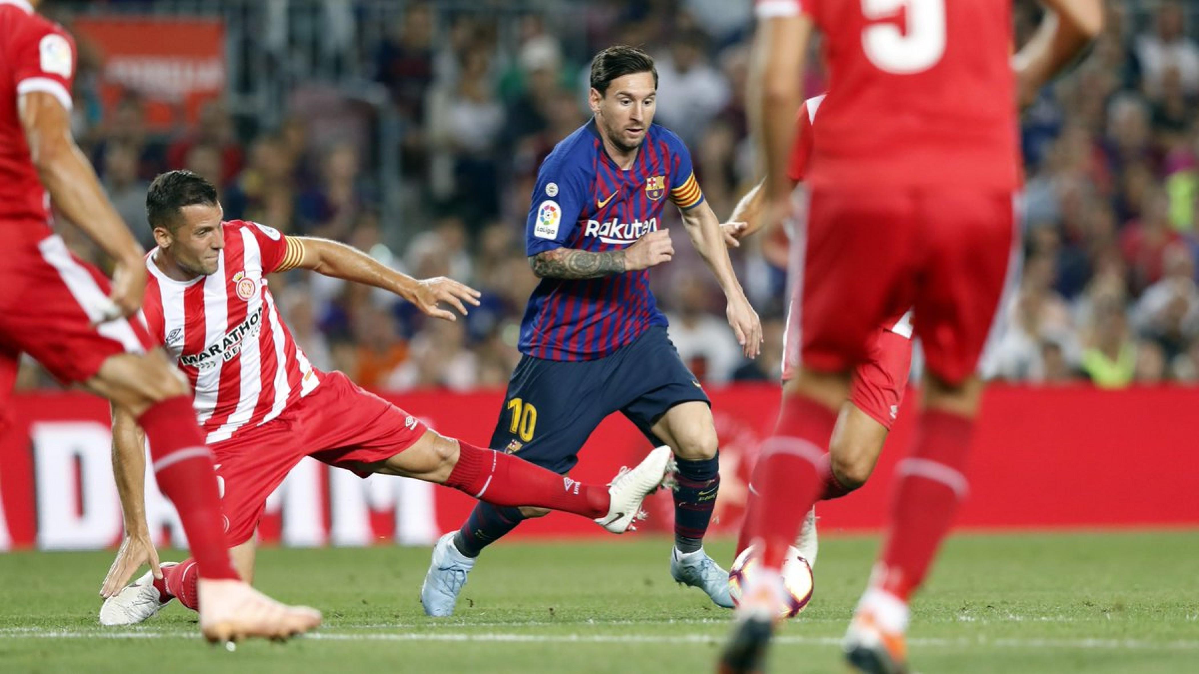 Liga - Il Barcellona sbatte contro il Girona: 2-2 al Camp Nou