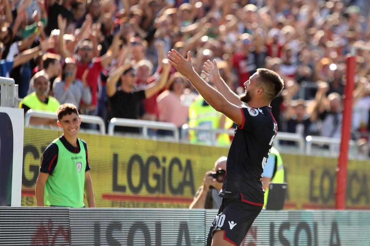 Il Cagliari vince e convince: Bologna battuto per due reti a zero