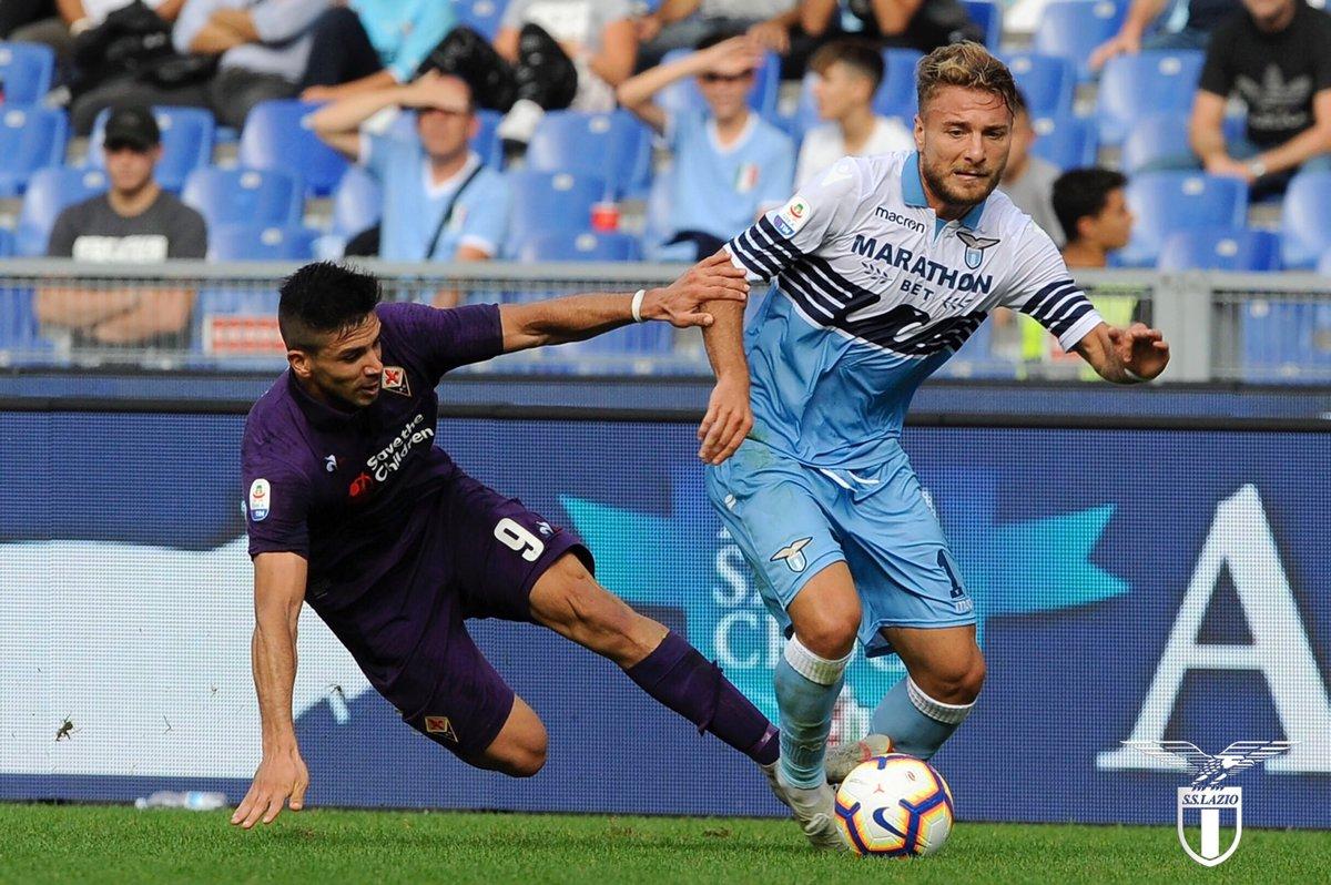 Serie A - Immobile stende la Fiorentina: la Lazio vince 1-0