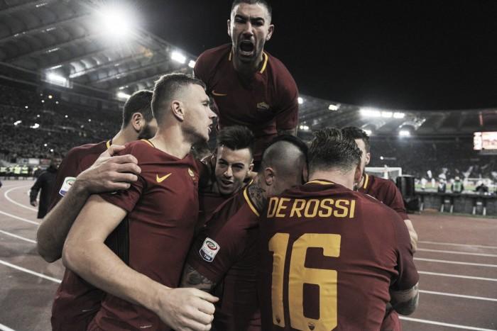 Serie A - La Roma fa suo il derby: battuta la Lazio 2-1