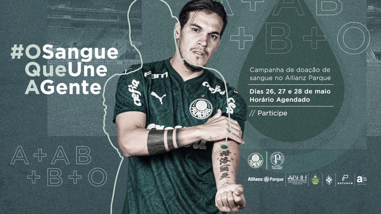 Palmeiras promove campanha de doação de sangue no Allianz Parque