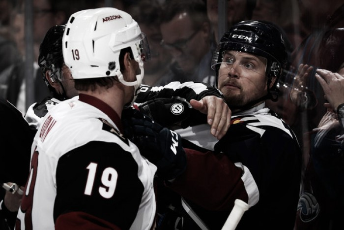 Arizona Coyotes are finally home vs Colorado Avalanche