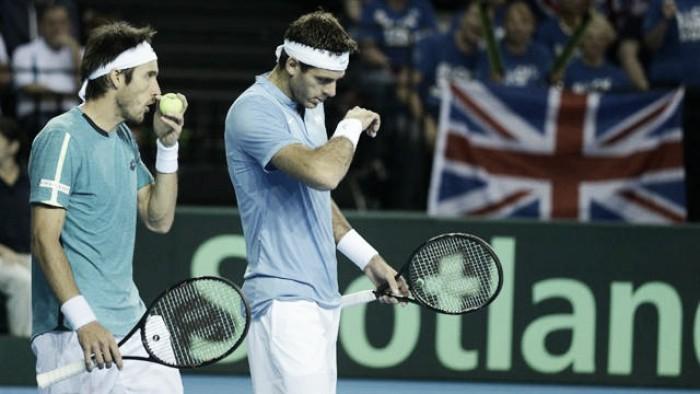 Gran Bretaña venció a la Argentina y puso 1-2 la serie