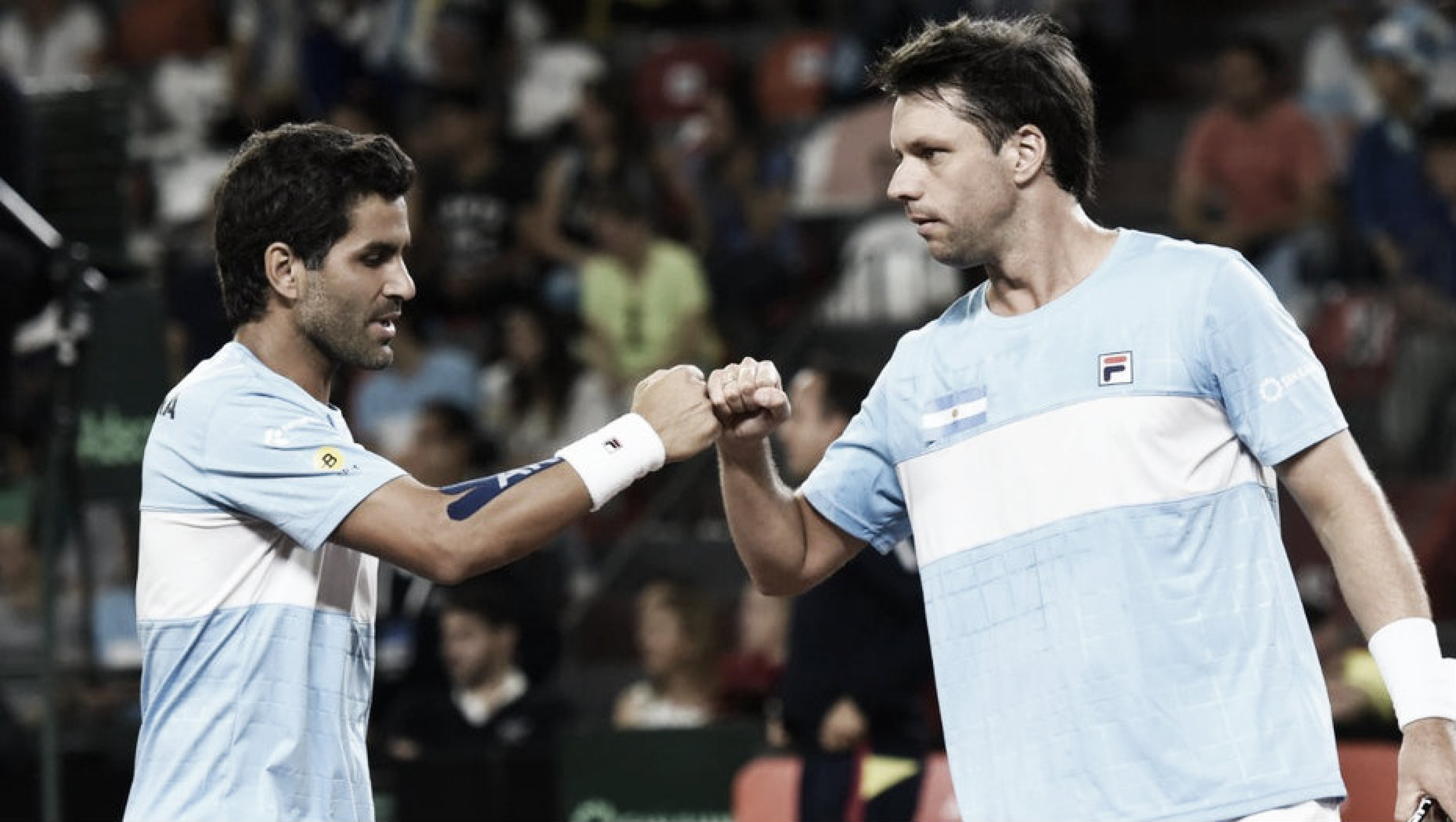 Copa Davis ARG-COL: Argentina ganó el dobles y será cabeza de serie en el Grupo Mundial