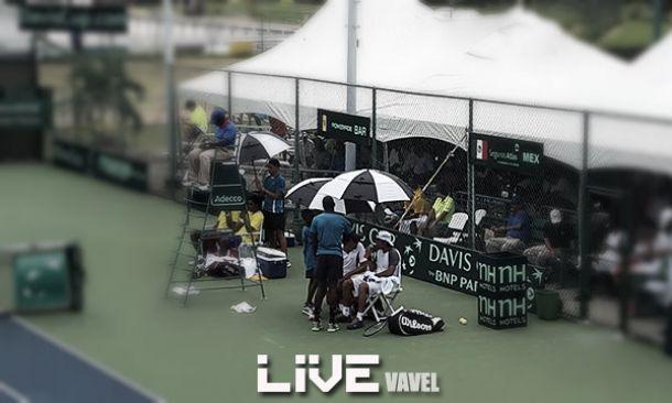 Resultado dobles México - Barbados en Copa Davis