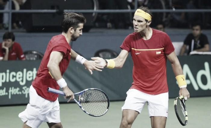 Copa Davis: victoria de España y ascenso al Grupo Mundial