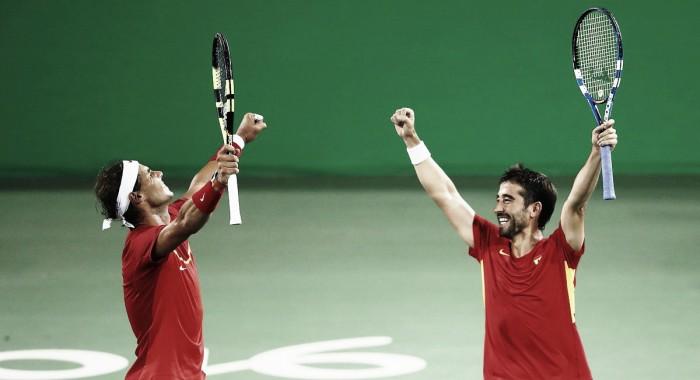 Rafa Nadal y Marc López aseguran la medalla y lucharán por el oro