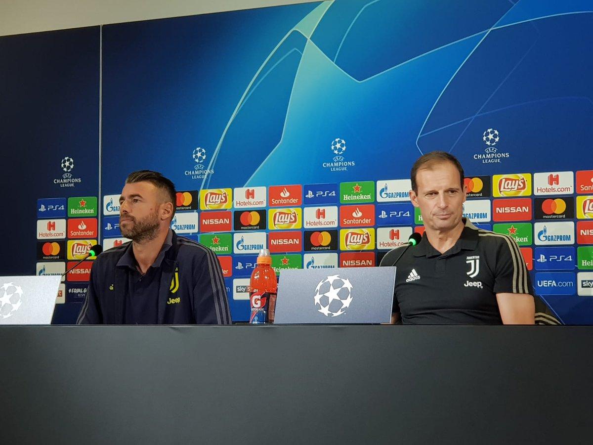 Juventus, Allegri in conferenza stampa presenta la trasferta di Udine