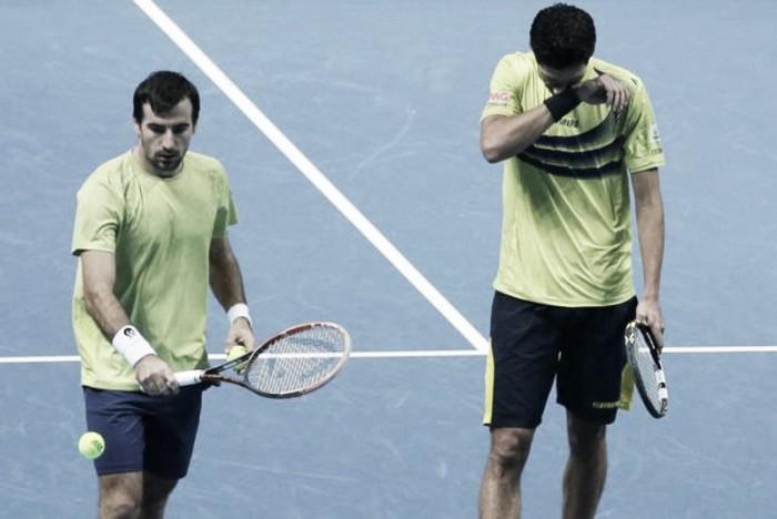 Em último torneio juntos, Melo e Dodig estreiam com derrota para irmãos Bryan em Londres
