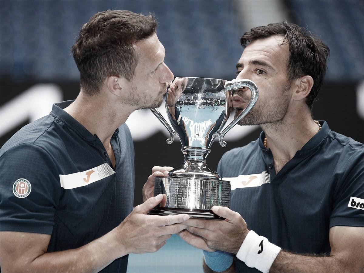 Dodig y Polášek levantan el título en Australia