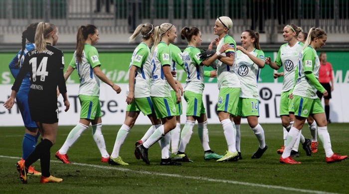 UEFA Women's Champions League - Wolfsburg (7) 3-3 (3) Fiorentina: Goals aplenty as Wolfsburg progress