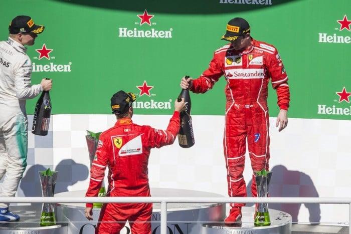 F1, Ferrari - Raikkonen si conferma e risponde con i fatti a Briatore