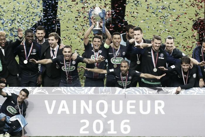 PSG vence Olympique de Marseille e conquista 10º título da Copa da França
