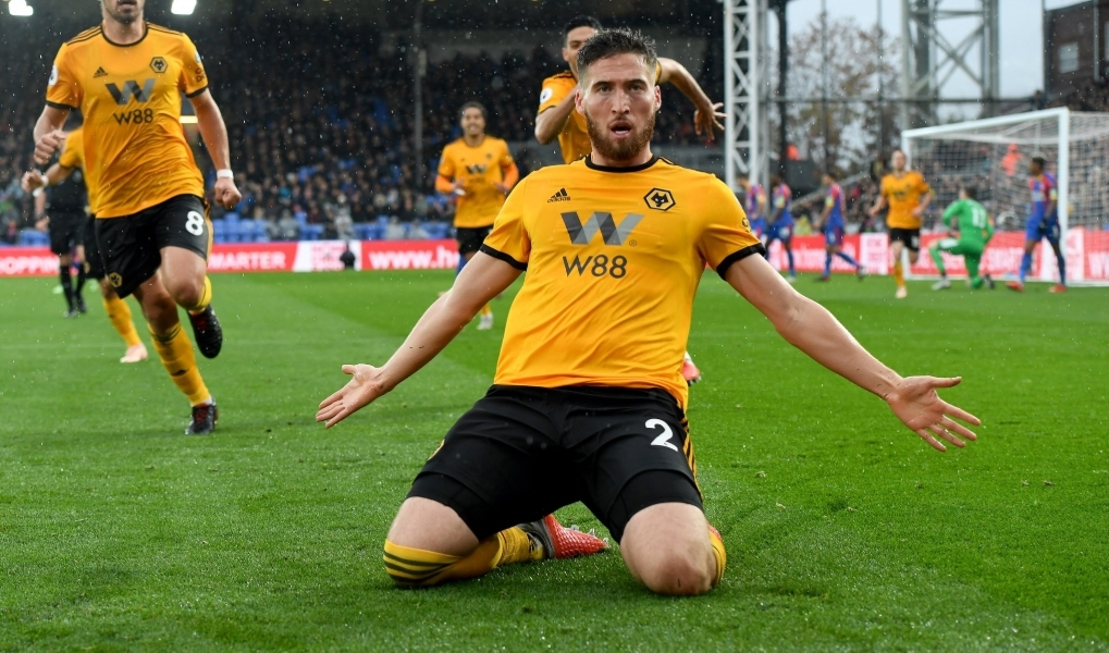 Crystal Palace 0-1 Wolves: Doherty's strike the difference