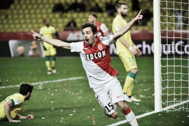 Mónaco: Bernardo Silva marca o tento da vitória diante do Nantes