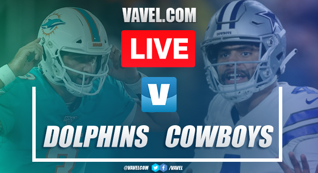 Touchdowns and highlights Dolphins 6-31 Cowboys, 2019 NFL