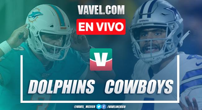 Resumen y video touchdowns Dolphins 6-31 Cowboys en NFL 2019