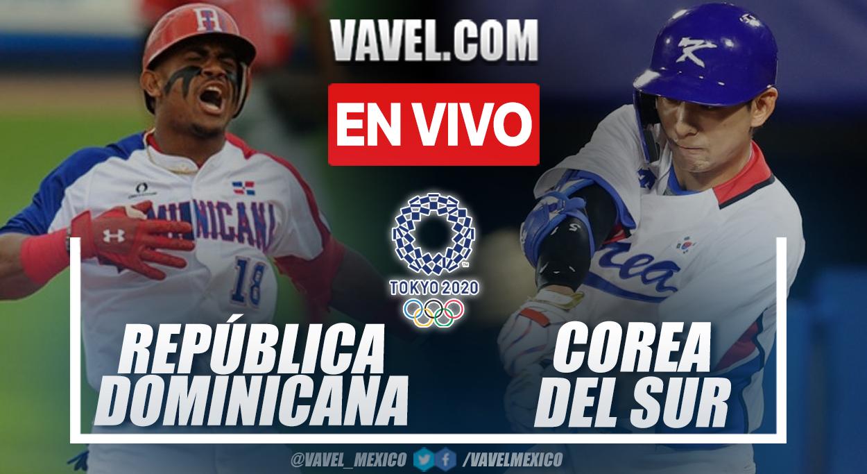 Resumen República Dominicana vs Corea del Sur (10-6) por el Bronce en los Juegos Olímpicos 2020