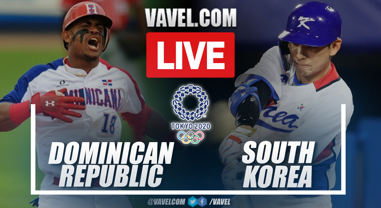 Highlights Dominican Republic 10-6 South Korea in Olympics Games 2020