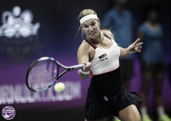WTA St. Petersburg: Dominika Cibulkova strolls to victory over Elena Vesnina