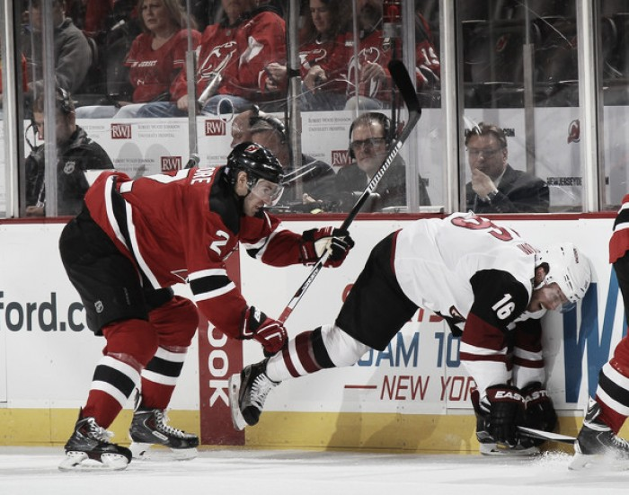 Arizona Coyotes face must win game against New Jersey Devils