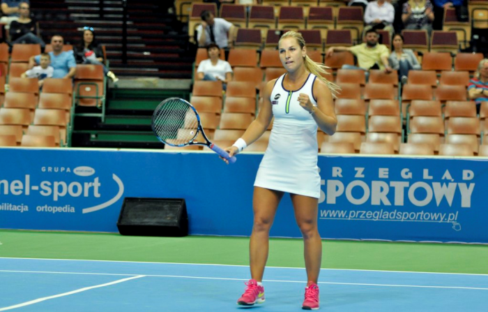 WTA Katowice: Dominika Cibulkova Progresses After A Tight Three Set Battle Against Carina Witthoeft