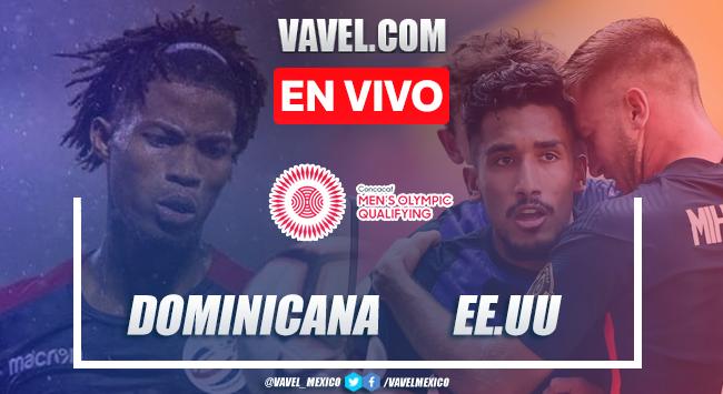 Goles y resumen: República Dominicana 0-4 Estados UnidosPreolímpico CONCACAF2021
