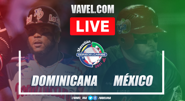 Highlights and scores: Dominicana 4 - 2 Mexico on 2021 Serie del Caribe