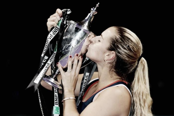WTA Finals: Commanding Dominika Cibulkova stuns Angelique Kerber for prestigious year-end title