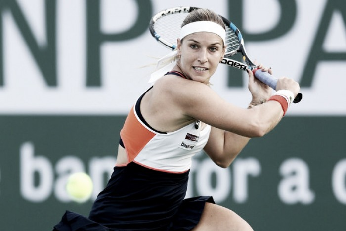 Top 10 WTA Matches of 2017: #9 - Dominika Cibulkova sneaks past Kristyna Pliskova in late-night thriller at Indian Wells