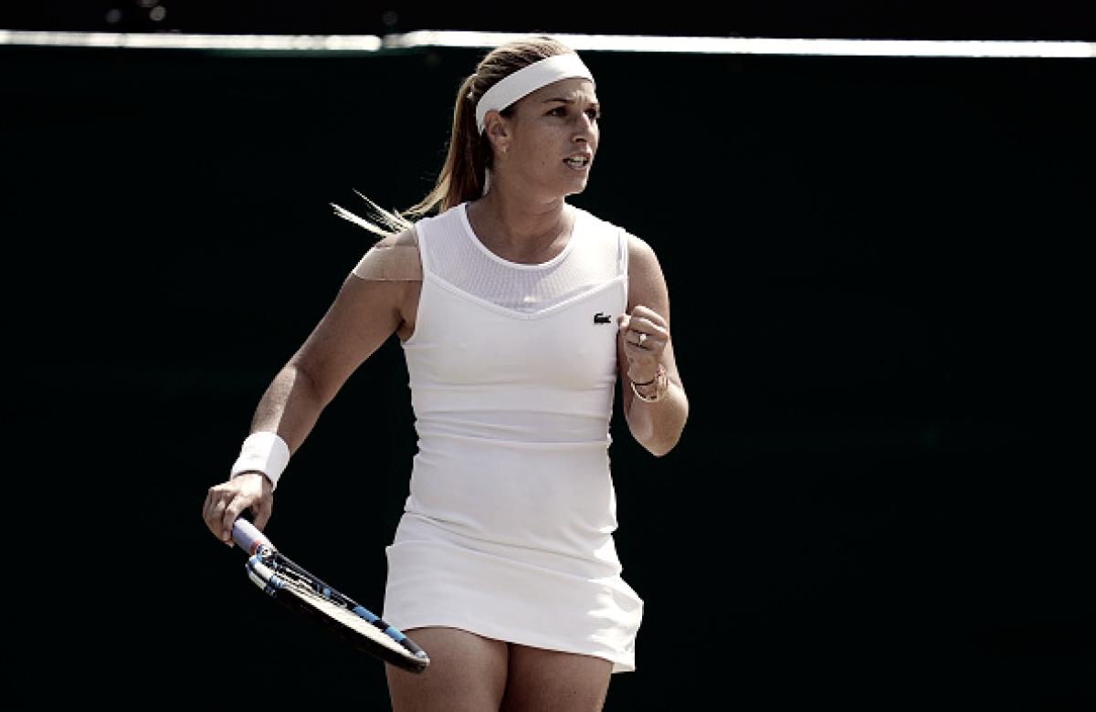 Cibulkova atropela Mertens e está nas oitavas de Wimbledon