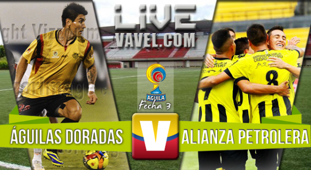 Resultado Águilas Doradas - Alianza Petrolera en Liga Águila II 2015 (0-0)