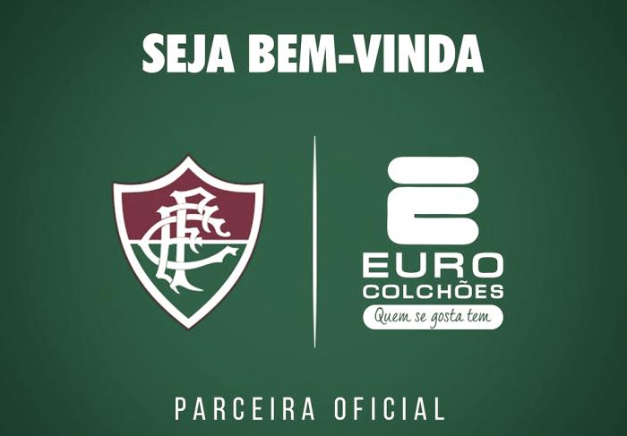 Fluminense anuncia parceria com empresa de colchões