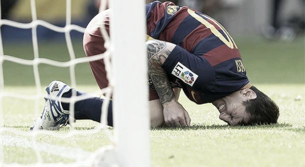 Lionel Messi out for 7-8 weeks due to injury