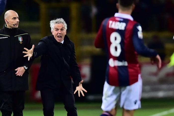 """Bologna, la delusione di Donadoni: """"Atalanta più cattiva. Deluso dalla mancata reazione nella ripresa"""""""