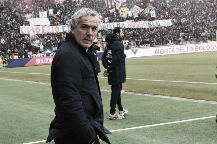 """Bologna, Donadoni: """"Abbiamo dato tutto, ma la Lazio è una grande squadra"""""""