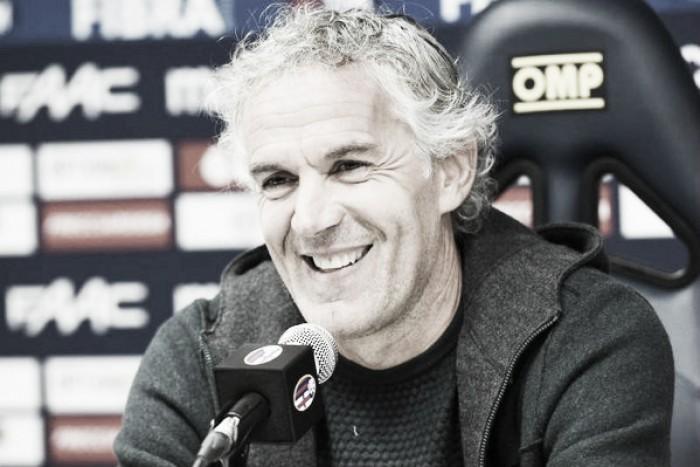 """Bologna, Donadoni: """"Destro è ok, a Roma non ci possiamo solo difendere"""""""