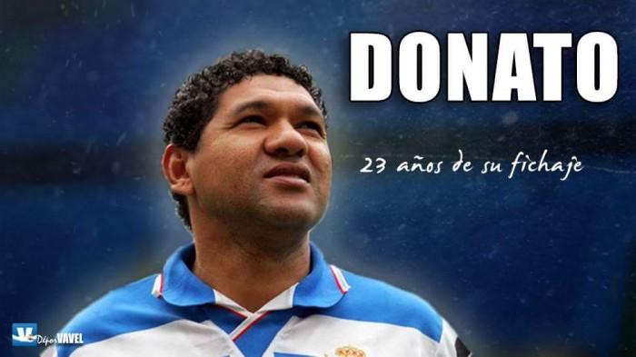 23 años del fichaje de Donato