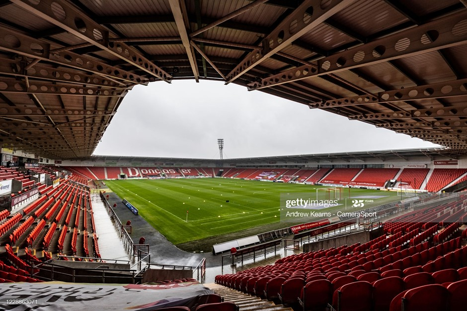 Doncaster Rovers have taken four points from their two League One games at the Keepmoat Stadium this season ahead of the visit of Ipswich Town. Photo: Andrew Kearns - CameraSport/Getty Images.